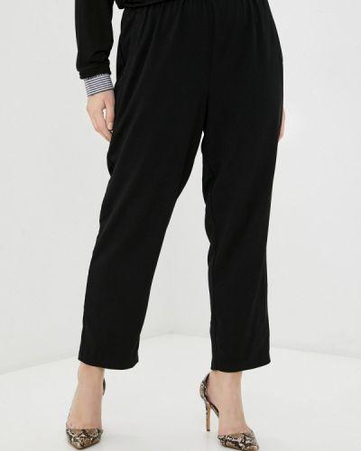 Черные зауженные брюки Rosa Thea