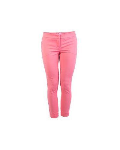Хлопковые повседневные розовые брюки Flavio Castellani