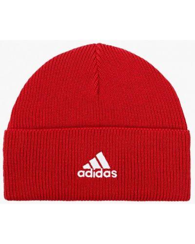 Шапка - красная Adidas