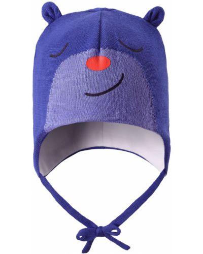 Вязаная шапка хлопковая бини Lassie By Reima