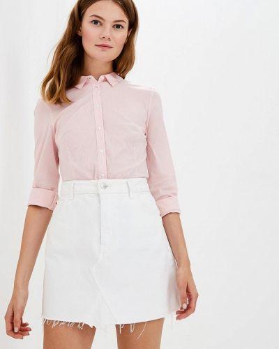Блузка с длинным рукавом розовая Sela