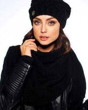Zimowy kapelusz czarny Producent Niezdefiniowany