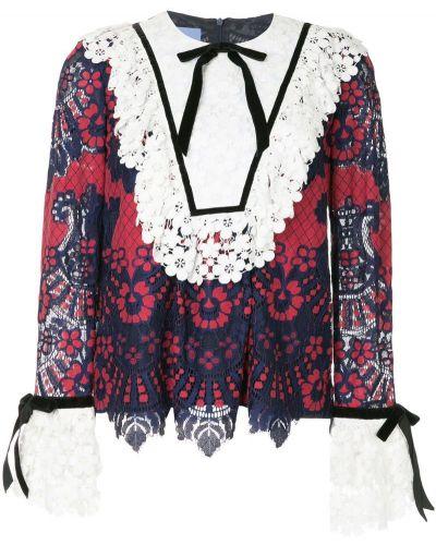 Блузка кружевная с бантом Macgraw