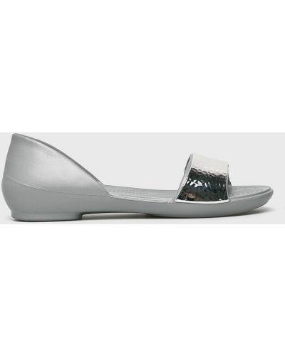 Балетки серебряный Crocs