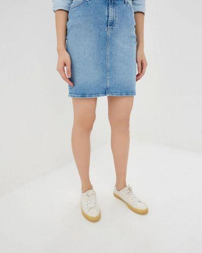 Джинсовая юбка весенняя Lee