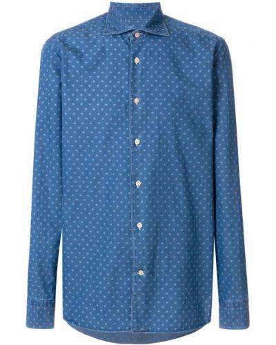 Рубашка синий Borriello