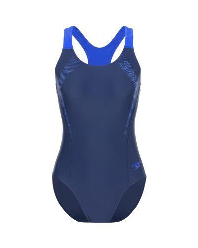 Синий купальник Speedo