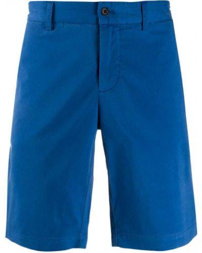Шорты с карманами - синие J.lindeberg