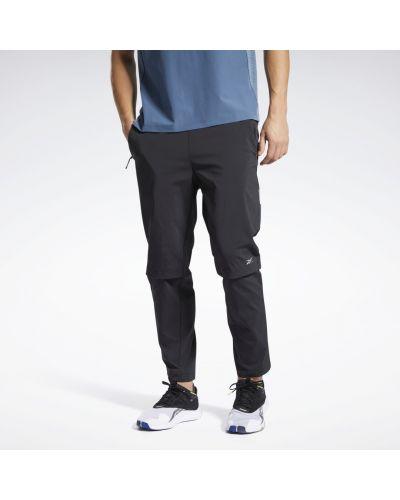Черные брюки Reebok