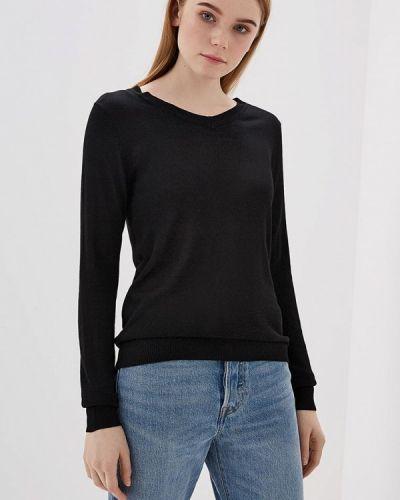 Черный пуловер Modis