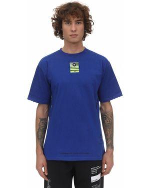 Niebieski t-shirt bawełniany Still Good