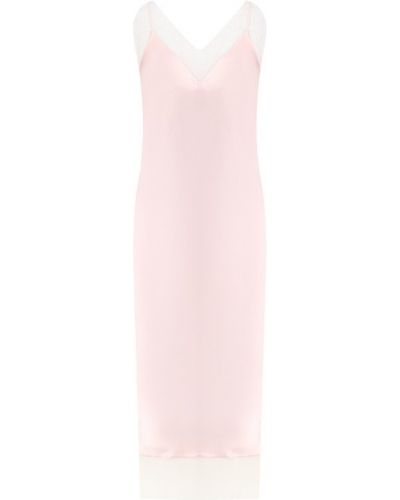 Вечернее платье пудровое - розовое Walk Of Shame