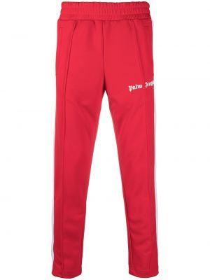 Spodni spodnie w paski z boku z paskami z kieszeniami Palm Angels