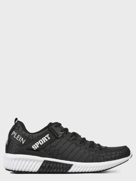 Текстильные кроссовки - черные Plein Sport