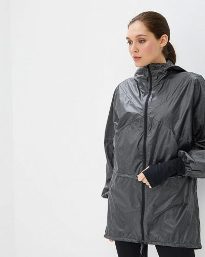 Куртка черная осенняя Asics