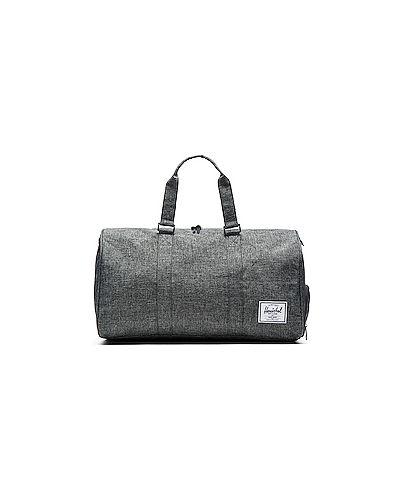Кожаная сумка через плечо серая Herschel Supply Co.