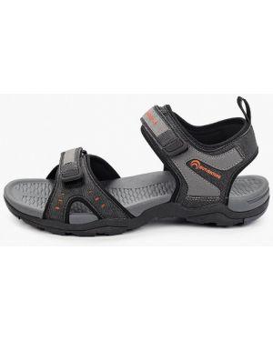 Серые кожаные сандалии Outventure