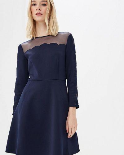 Синее платье прямое Ted Baker London