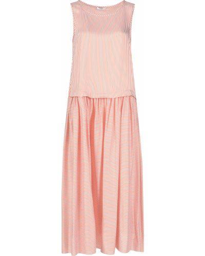 Шелковое платье - розовое Peserico