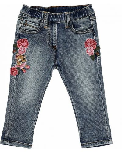 Niebieskie mom jeans Monnalisa