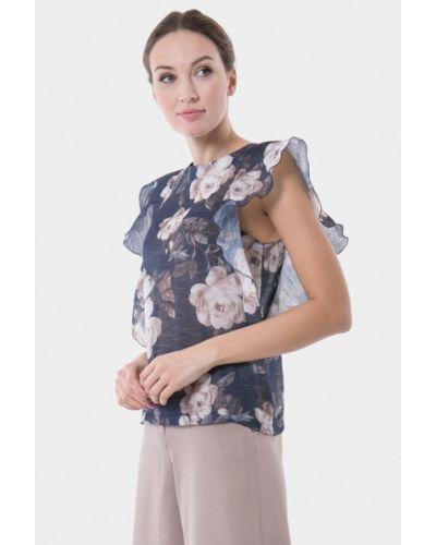 Блузка синяя Vladi Collection