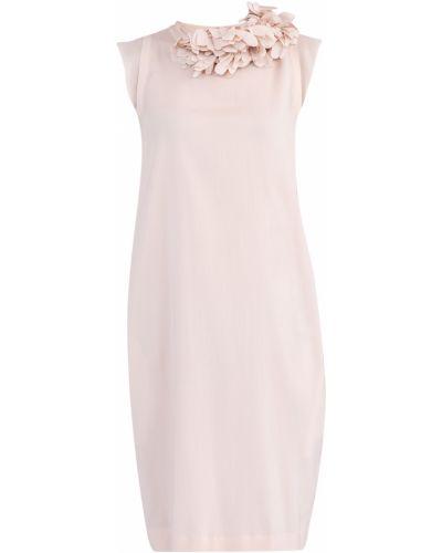 Платье тюльпан из крепа Brunello Cucinelli