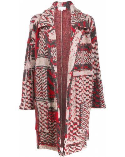 Длинное пальто с капюшоном Lala Berlin