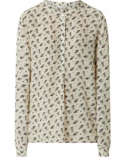 Beżowa bluzka z wiskozy Frogbox