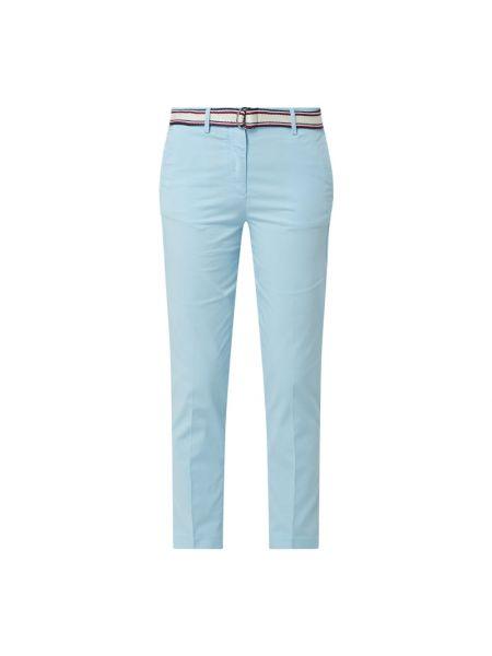 Bawełna bawełna niebieski chinosy z kieszeniami Tommy Hilfiger