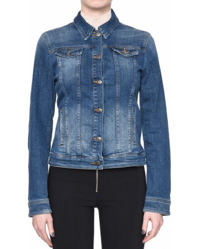 Куртка весенняя синий Emporio Armani