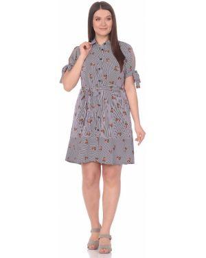 Платье с поясом на пуговицах платье-сарафан Dream World