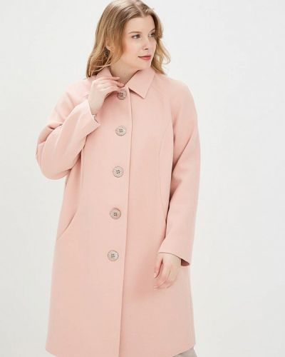 Розовое пальто Silver String