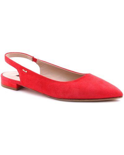 Кожаные босоножки - красные Norma J.baker