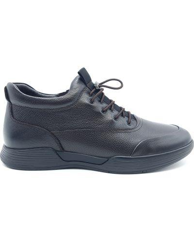 Кожаные ботинки - коричневые Boss Victori
