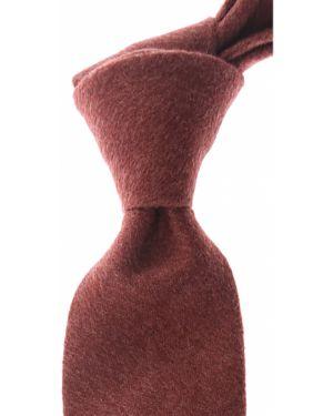 Czerwony krawat z jedwabiu Belvest