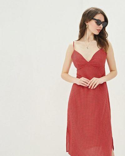 Платье розовое платье-комбинация Glamorous