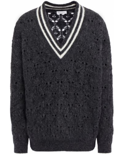 Шерстяной свитер Brunello Cucinelli