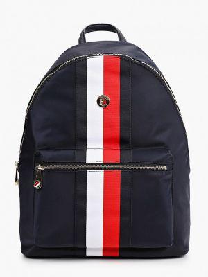 Нейлоновый синий городской рюкзак Tommy Hilfiger