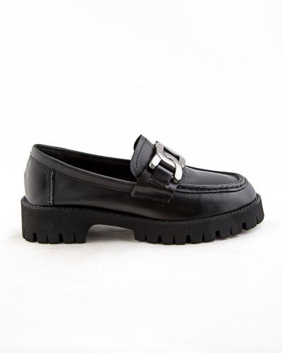 Черные туфли осенние Sidestep