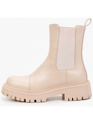 Бежевые демисезонные ботинки челси Vivian Royal