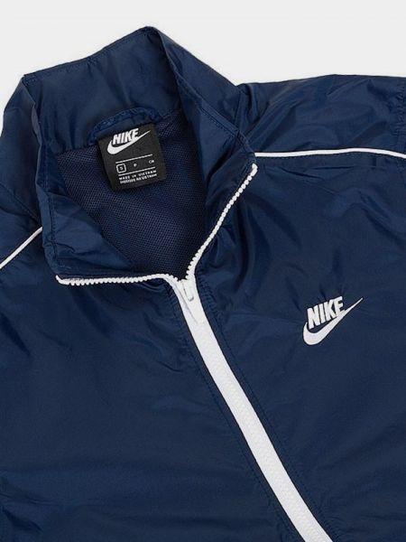 Костюмный синий спортивный костюм Nike