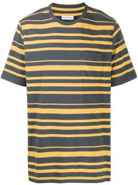 Koszula krótkie z krótkim rękawem w paski z logo Camper