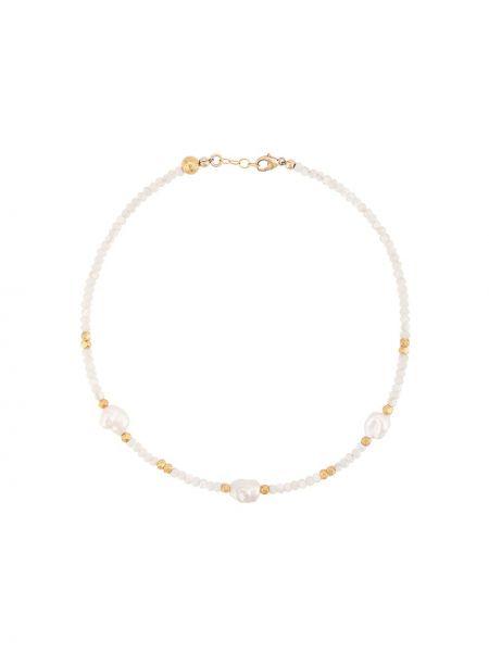 Белый чокер Nialaya Jewelry