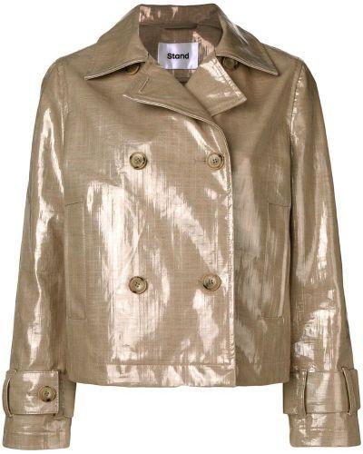 Прямой удлиненный пиджак на пуговицах Stand
