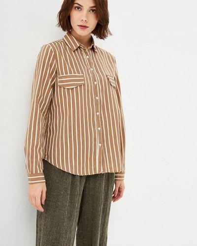 Рубашка с длинным рукавом бежевый Sweewe