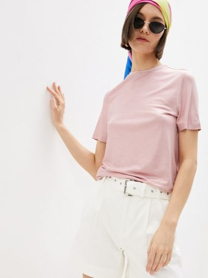 Розовая футболка с короткими рукавами Ted Baker London