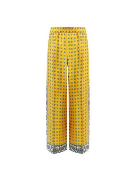 Шелковые брюки Escada