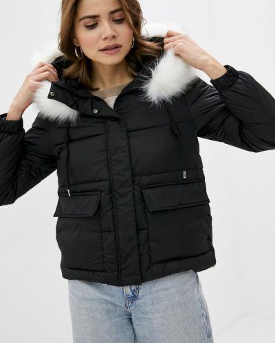 Теплая черная утепленная куртка Froggi