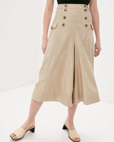 Широкие брюки - бежевые Bulmer