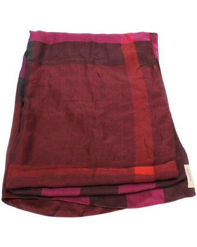 Czerwony szalik Burberry Vintage